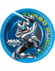 8 Piattini di carta Max Steel™