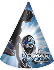 6 Cappellini di carta Max Steel™