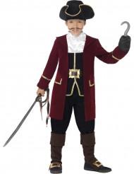 Costume capitano pirata bambino