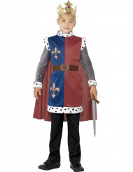Costume re medievale del nord bambino