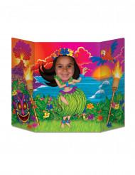 Cartellone per foto ragazza Hawai