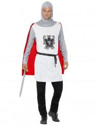 Costume cavaliere bianco uomo