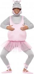 Costume ippopotamo ballerina adulto