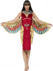 Costume da dea egizia rosso donna