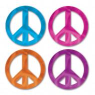Confezione di 8 deorazioni Peace