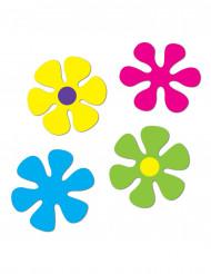 4 Decorazioni a forma di fiore