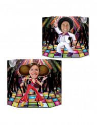 Cartellone per foto disco