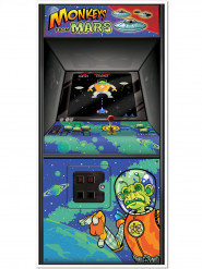 Decorazione Arcade Game anni 80 per porta