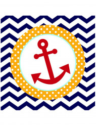 18 tovaglioli carta marinaio 33 x 33 cm