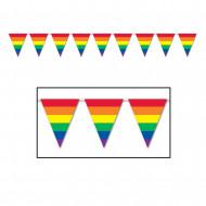 Bandierine gagliardetti arcobaleno