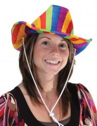 Cappello cowoboy multicolore