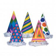 Cappello festa colorato cartone