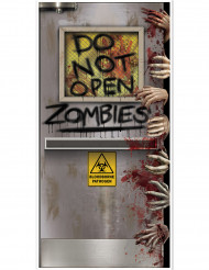 Decorazione per porta laboratorio zombie Halloween