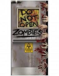 Decorazione per porta laboratorio zombie Halloween