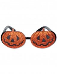 Occhiali con zucche di Halloween