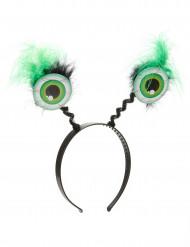 Cerchietto occhi verdi