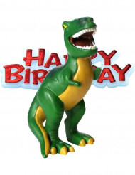 Figurina dinosauro Happy birthday