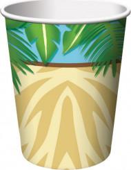 8 Bicchieri Compleanno Safari Avventura
