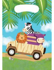 8 Buste regalo di compleanno Safari Avventure