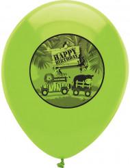 6 palloncini safari