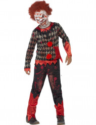 Costume zombie clown bambino Halloween
