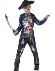 Costume da zombie pirata bambino