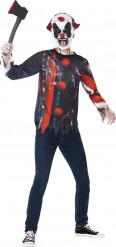 Kit travestimento clown macabro adolescente Halloween