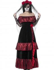 Costume sposa lugubre messicana Halloween