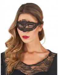 Maschera elegante nera