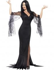 Costume strega sexy con merletto Halloween
