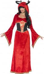 Costume regina diabolica donna Halloween