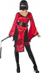 Travestimento guerriera ninja donna