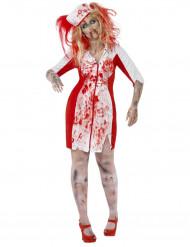 Costume da infermiera zombie donna Halloween
