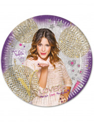8 Piattini di carta Violetta™