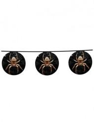 Image of Decorazione Halloween: ghirlanda ragni di carta