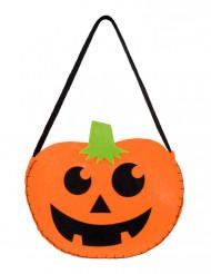 Borsetta a forma di zucca per Halloween