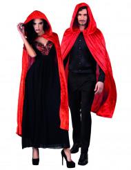 Mantello rosso adulto Halloween