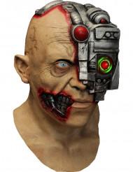 Maschera integrale animata da cyborg