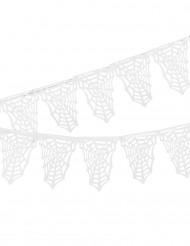 Decorazione di Halloween:ghirlanda di ragnatele bianche