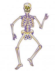 Decorazione di Halloween: scheletro di carta da sospendere
