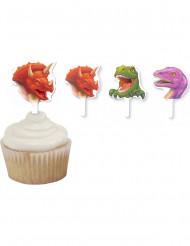 12 Decorazioni per torta Dinosauri