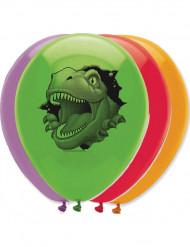 6 palloncini dinosauro