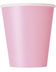 14 bicchieri di carta rosa cipria 266 ml