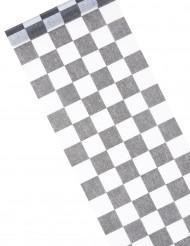 Runner da tavola tessuto non tessuto a scacchi
