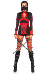 Travestimento ninja donna