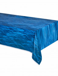 Tovaglia di plastica blu oceano