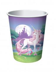 8 bicchieri Unicorno magico