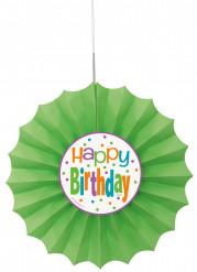 Festone di carta Happy Birthday