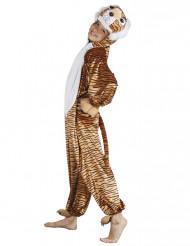 Costume tigre con coda e zampe bambino