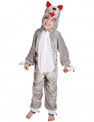 Costume da lupo bambino